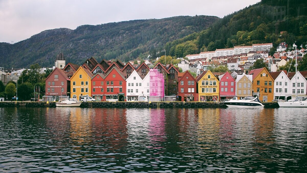 Cruising Along the Fjord