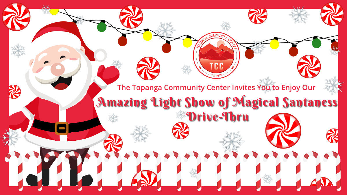 ENCORE Show Sunday 5 – 6pm!! Amazing Light Show of Magical Santaness Drive-Thru at TCC