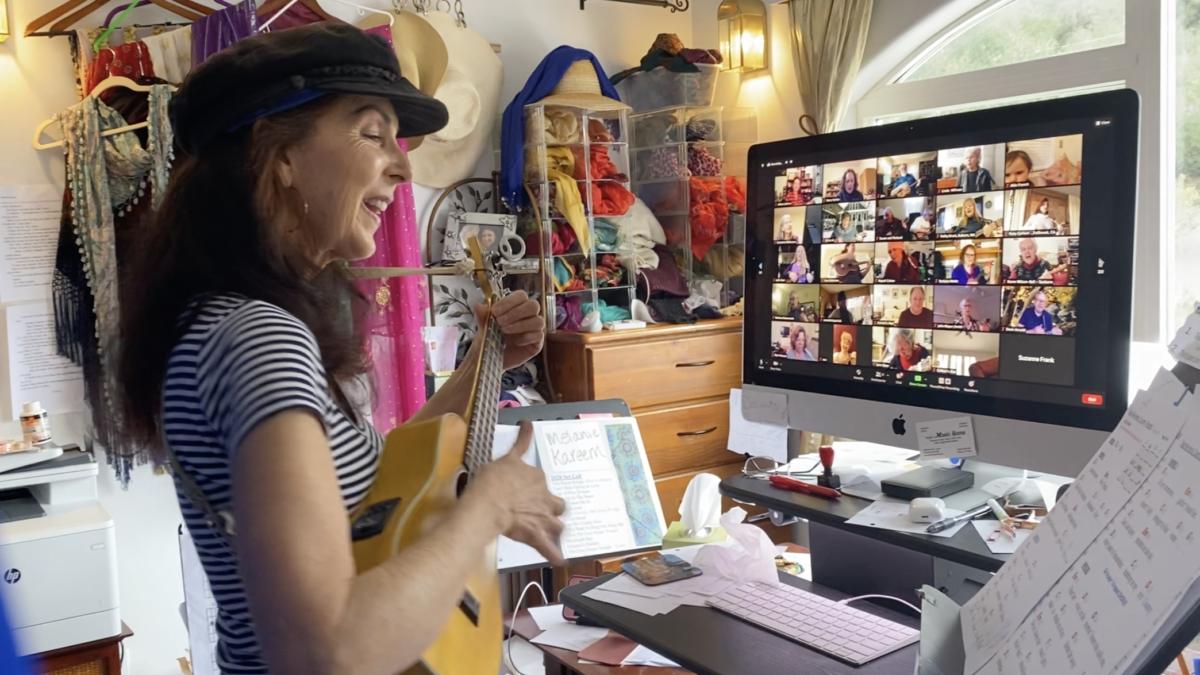 Melanie Kareem: Playing Ukulele for Pandemic Resilience