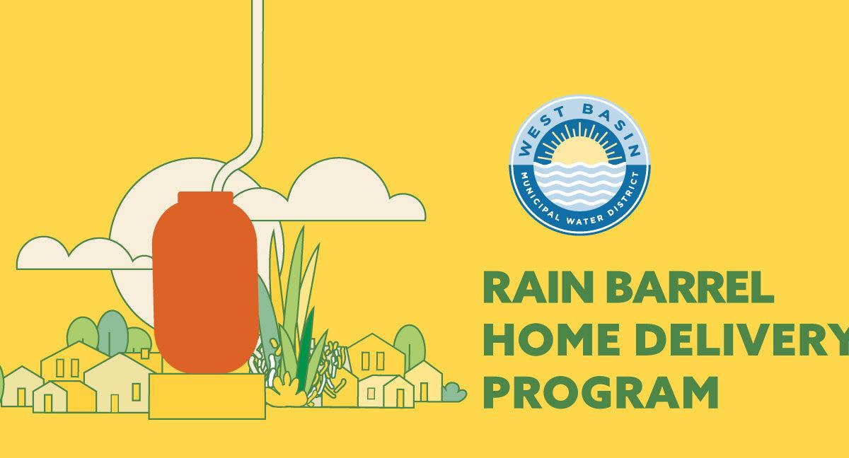Free Rain Barrel Home Delivery Program