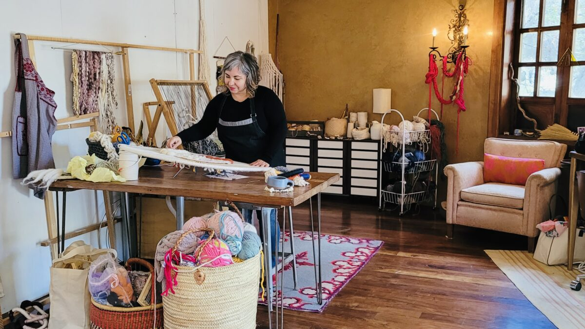Spotlight on Women-Owned Business: Trudy Perry Fiber Art