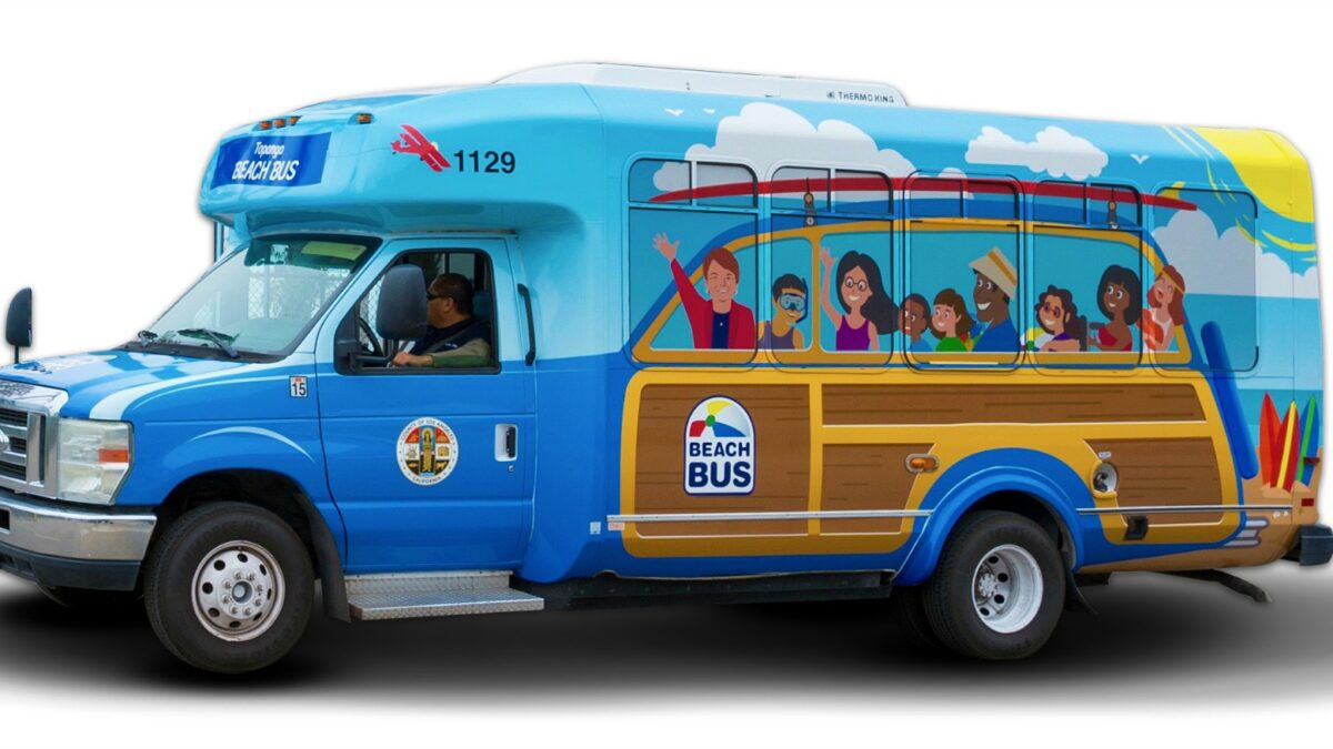 The Beach Bus is Back!
