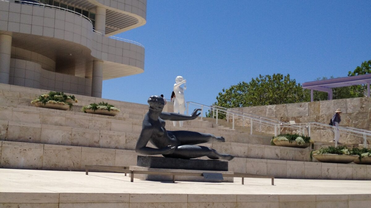 The Getty Center is the Latest Local Museum to Reopen.