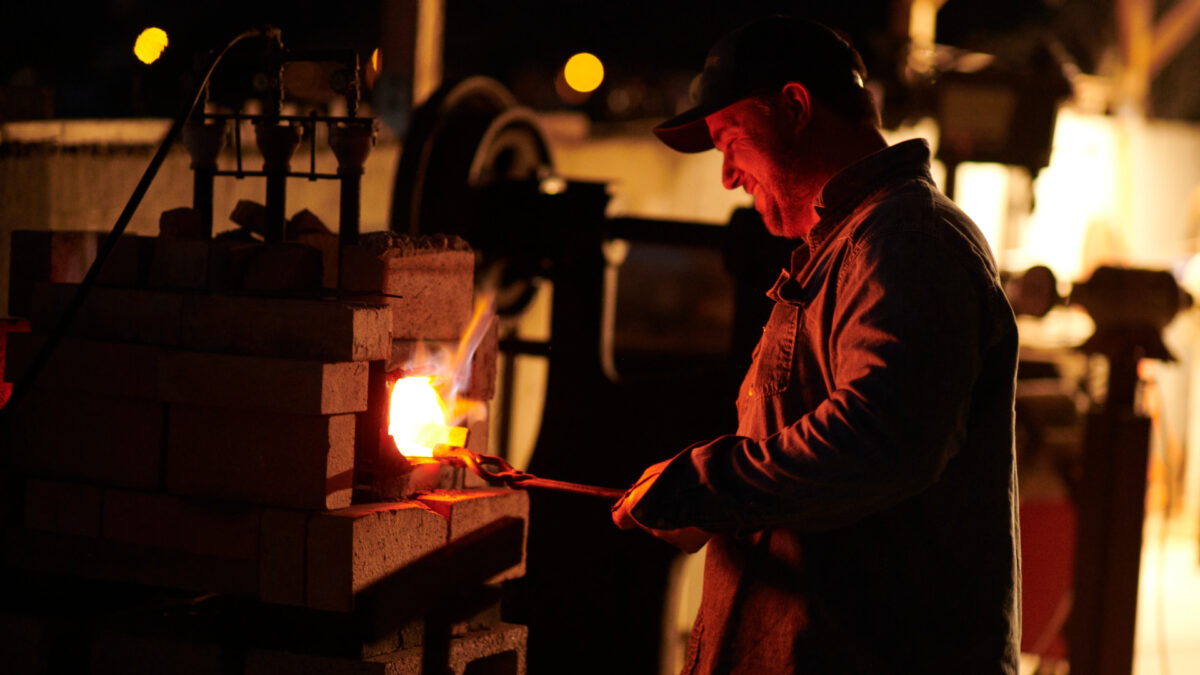 Forging Steel and Family