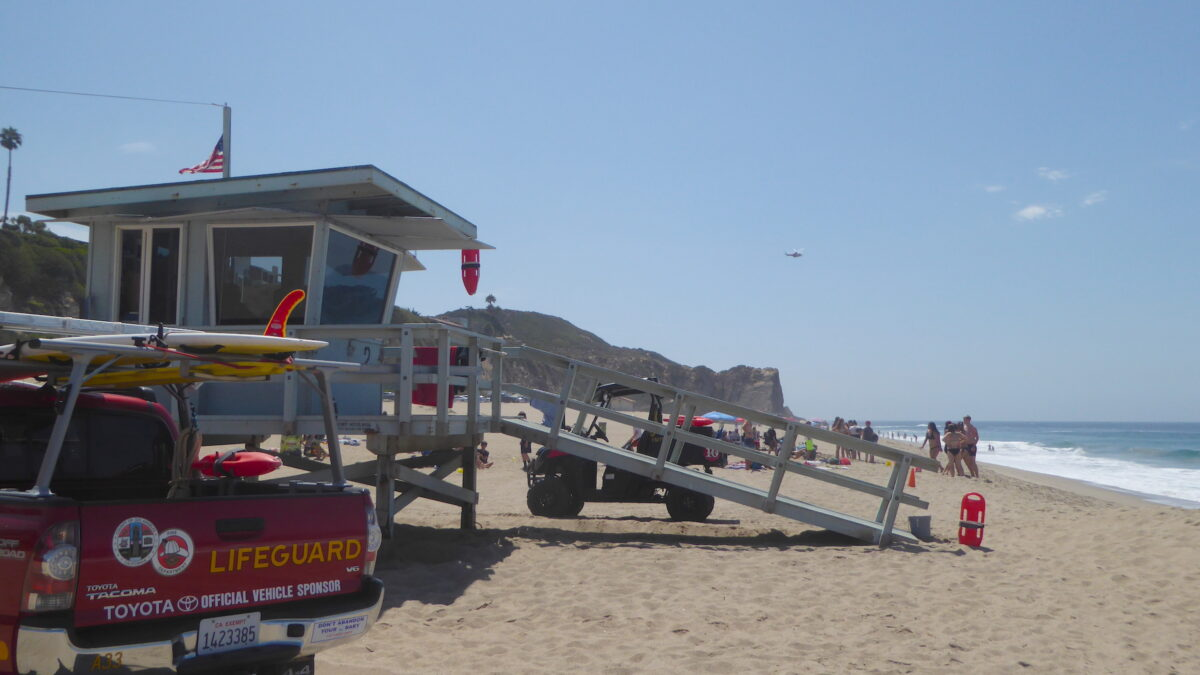 Los Angeles County Lifeguard Beach Safety Tips