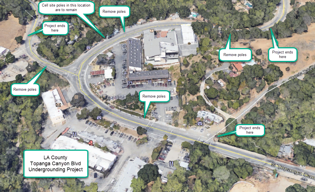 Topanga Utility Underground Project: Electrical System Upgrades in the Downtown Area of Topanga